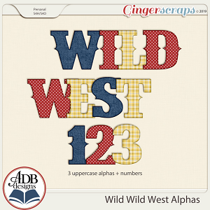 Wild Wild West Alphas by ADB Designs