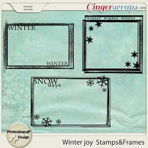 Winter joy Stamps&Frames