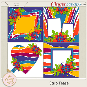 The Cherry On Top:  Strip Tease #1 Templates