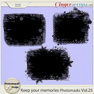 Keep your memories Photomasks Vol.25