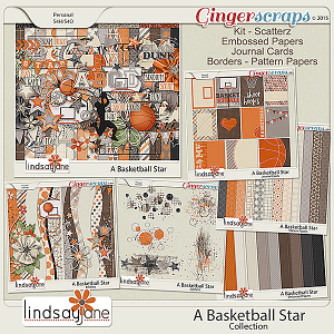 A Basketball Star Collection by Lindsay Jane