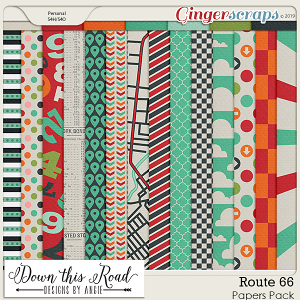 Route 66 Paper Pack
