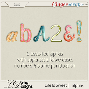 Life Is Sweet: Alphas by LDrag Designs