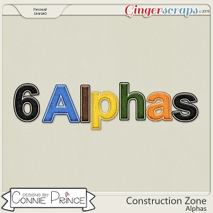 Construction Zone - Alpha Pack AddOn by Connie Prince