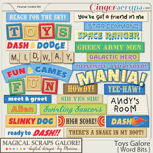 Toys Galore (word bits)