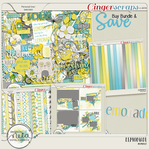 Lemonade - Bundle - by Neia Scraps
