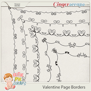 Valentine Page Borders 03