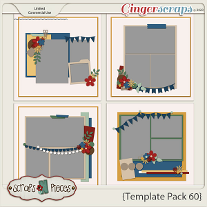 Template Pack 60 by Scraps N Pieces