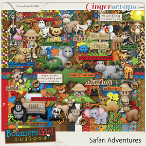 Safari Adventures by BoomersGirl Designs