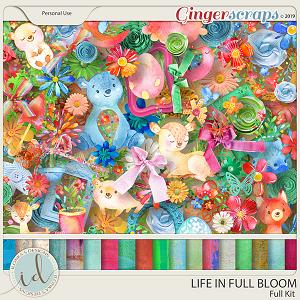 Life In Full Bloom Full Kit by Ilonka's Designs