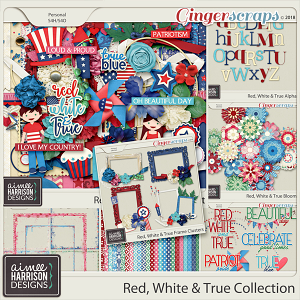 Red, White & True Collection by Aimee Harrison