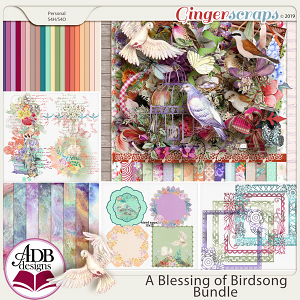 A Blessing of Birdsong Bundle by ADB Designs