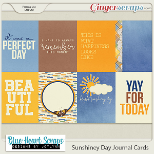 Sunshiney Day Journal Card Pack