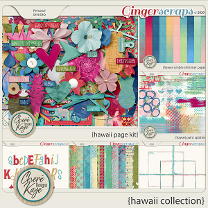 Hawaii Collection by Chere Kaye Designs