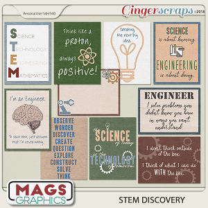STEM Discovery JOURNAL CARDS by MagsGraphics