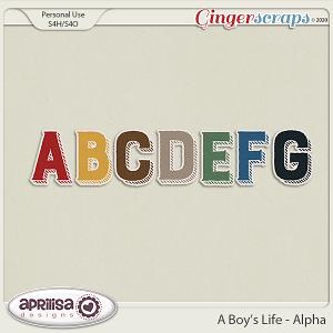 A Boy's Life - Alpha by Aprilisa Designs