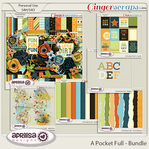 A Pocket Full - Bundle by Aprilisa Designs
