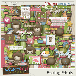 Feeling Prickly by BoomersGirl Designs