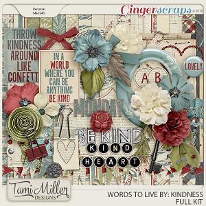 Kindness Full Kit by Tami Miller Designs