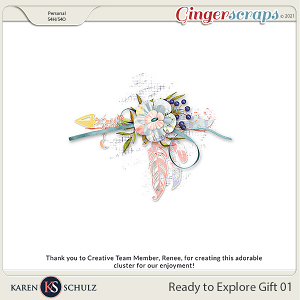 Ready to Explore Gift 1 by Karen Schulz