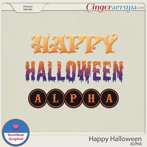 Happy Halloween - alpha