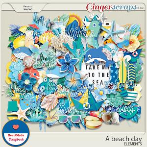 A beach day - elements