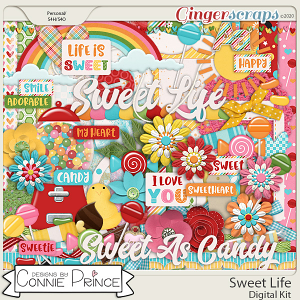 Sweet Life - Kit by Connie Prince