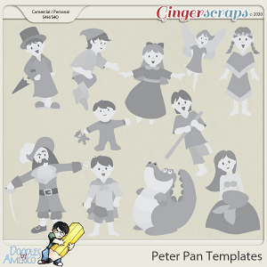 Doodles By Americo: Peter Pan Templates