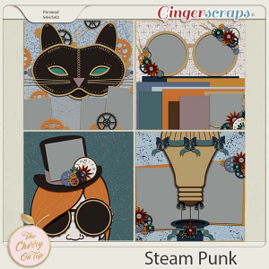 The Cherry On Top:  Steam Punk Templates