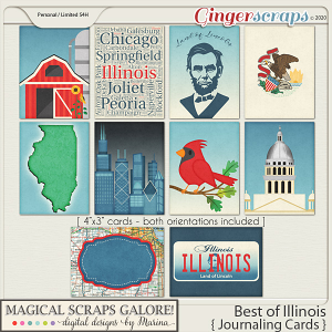 Best of Illinois (journaling cards)