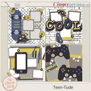 The Cherry On Top Teen-Tude Templates