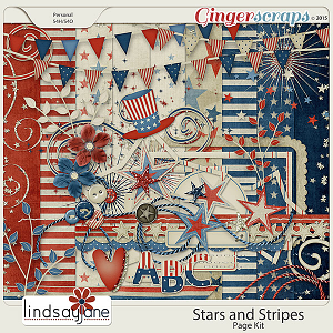 Stars and Stripes by Lindsay Jane