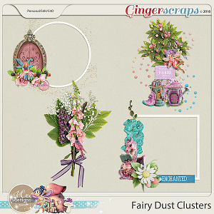 Fairy Dust Clusters by JoCee Designs