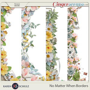 No Matter When Borders by Karen Schulz