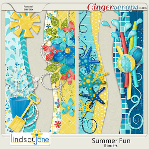 Summer Fun Borders by Lindsay Jane