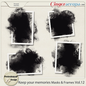 Keep your memories Masks&Frames Vol.12