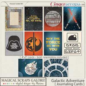 Galactic Adventure (journaling cards)