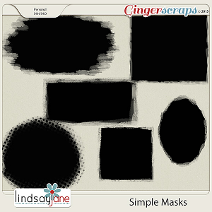 Simple Masks by Lindsay Jane