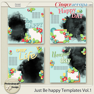 Just be happy Templates Vol.1