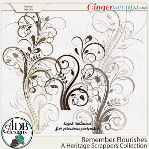 Remember Flourishes by ADB Designs