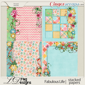 Fabulous Life: Stacked Papers by LDragDesigns