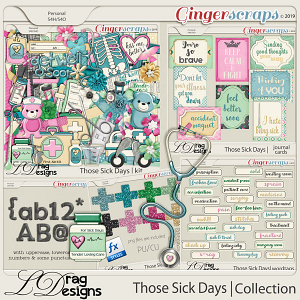 Those Sick Days: The Collection by LDragDesigns