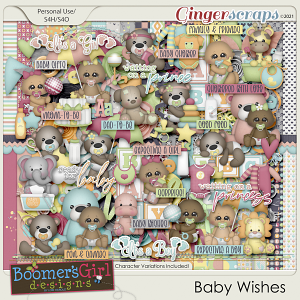Baby Wishes by BoomersGirl Designs