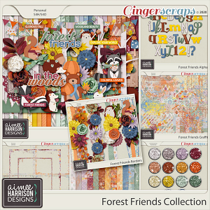 Forest Friends Collection by Aimee Harrison