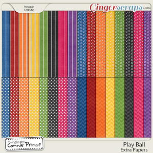 Play Ball - Extra Paper Pack