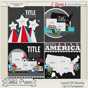 Land Of Liberty - 12x12 Temps (CU Ok)