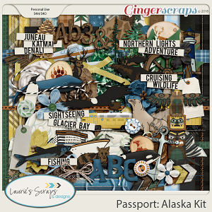 Passport Alaska Page Kit