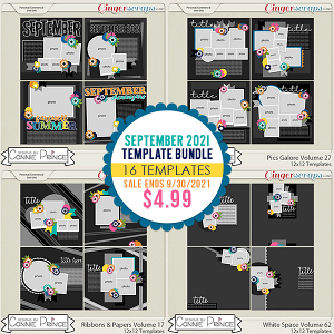 September 2021 Template Bundle by Connie Prince