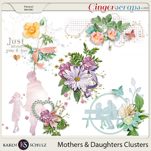 Mothers and Daughters Clusters by Karen Schulz