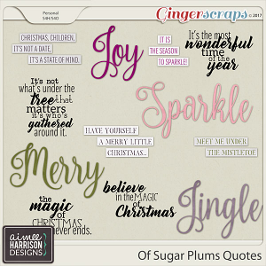 Of Sugar Plums Quotes by Aimee Harrison
